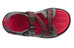 Keen Rock Iguana - Tongs Enfant - gris/rouge